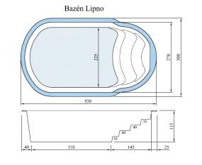 bazén Lipno